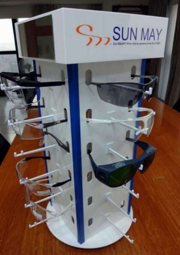 SunMay: Safety Glasses, Safety Eyewear Display & Products for Eye Protection