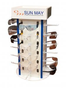 SunMay: Safety Glasses, Safety Eyewear & Products for Eye Protection SafetyEyewear Display